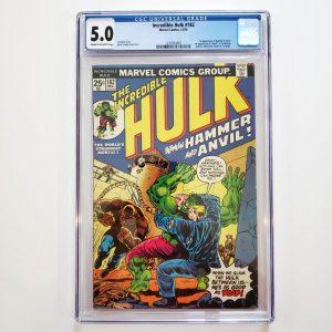 Incredible Hulk #182 CGC 5.0 VG/FN Front