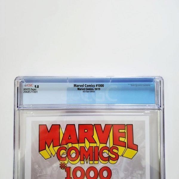 Marvel Comics #1000 CGC 9.8 D23 Expo Variant Back Label