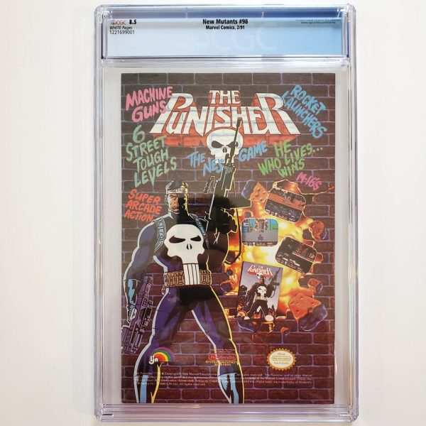 New Mutants #98 CGC 8.5 VF+ Back