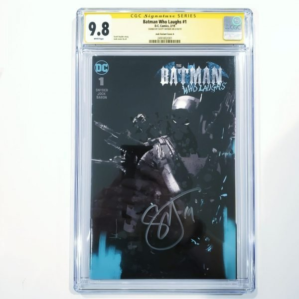 Batman Who Laughs #1 CGC 9.8 SS Jock Variant Front