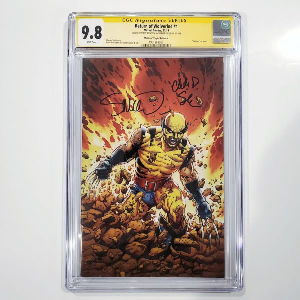 Return of Wolverine #1 CGC SS 9.8 McNiven Variant H Front