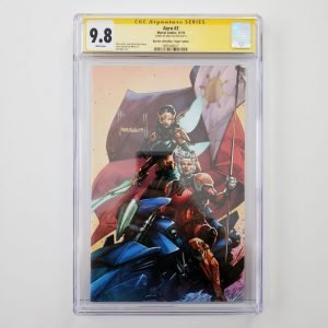 Aero #3 CGC SS 9.8 Big Time Collectibles Virgin Variant Front
