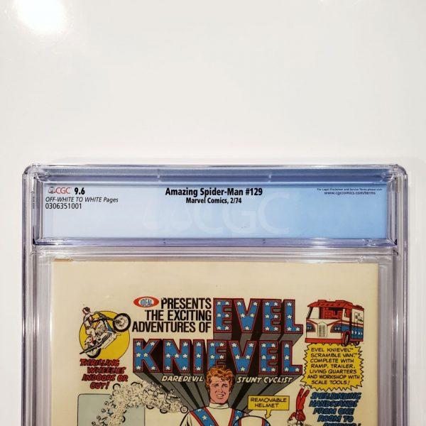 Amazing Spider-Man #129 CGC 9.6 NM+ Back Label