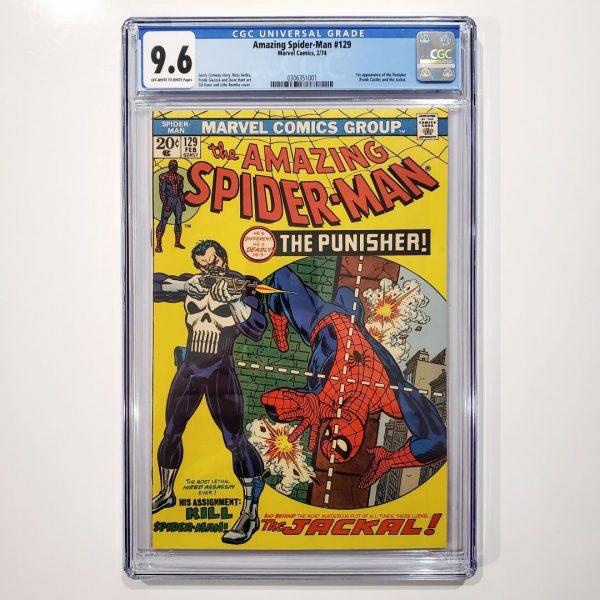 Amazing Spider-Man #129 CGC 9.6 NM+ Front