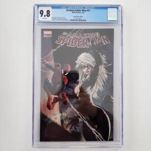 Amazing Spider-Man #15 (2016) CGC 9.8 NM/M Aspen Comics Variant Front