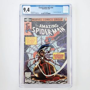Amazing Spider-Man #210 CGC 9.4 NM Front