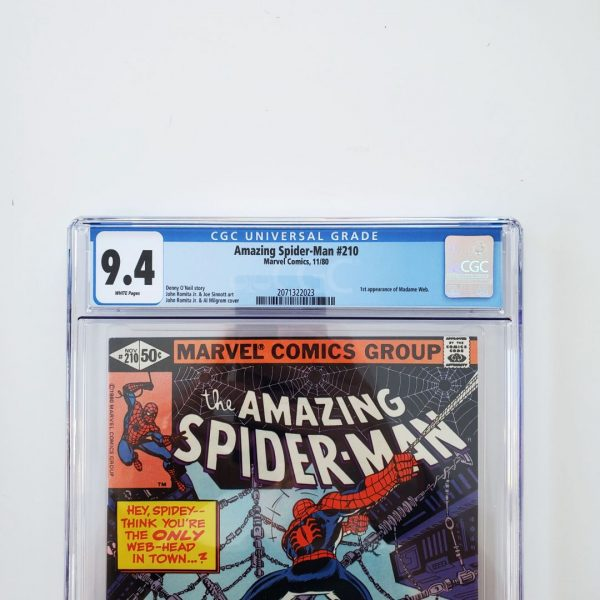 Amazing Spider-Man #210 CGC 9.4 NM Front Label