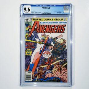 Avengers #195 CGC 9.6 NM+ Front