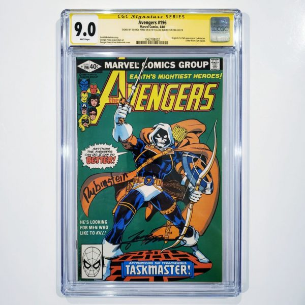 Avengers #196 CGC SS 9.0 VF/NM Front