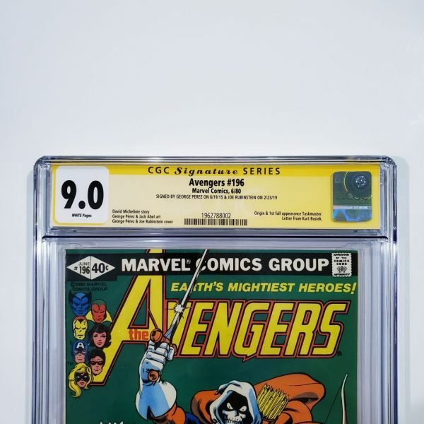 Avengers #196 CGC SS 9.0 VF/NM Front Label