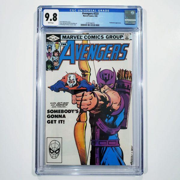 Avengers #223 CGC 9.8 NM/M Front