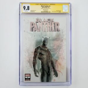 Black Panther #1 CGC SS 9.8 David Mack Variant Front