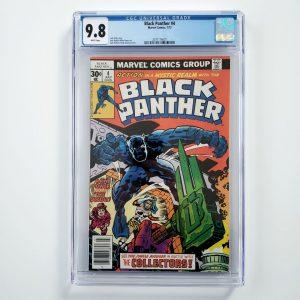 Black Panther #4 CGC 9.8 NM/M Front