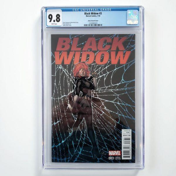 Black Widow #3 CGC 9.8 NM/M Jones Variant Front
