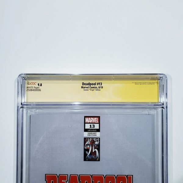 Deadpool (2019) #13 CGC SS 9.8 Granov Variant Back Label