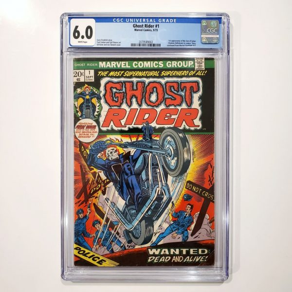 Ghost Rider #1 CGC 6.0 FN Front