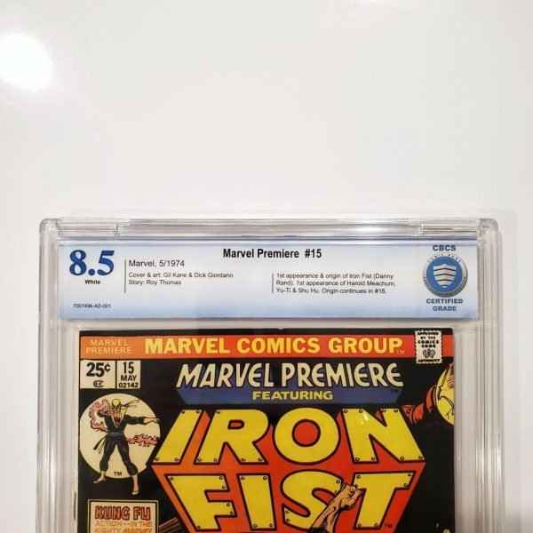 Marvel Premiere #15 CBCS 8.5 VF+ Front Label