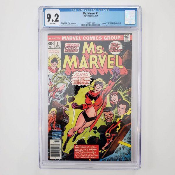 Ms. Marvel #1 CGC 9.2 NM- Front