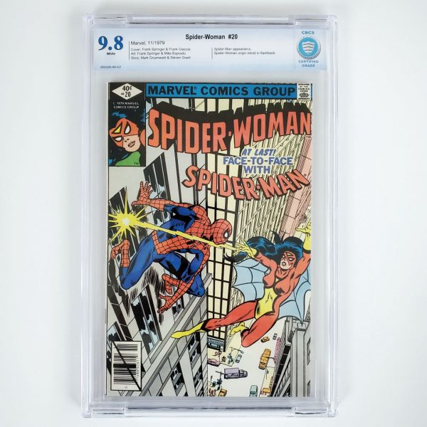 Spider-Woman #20 CBCS 9.8 Front