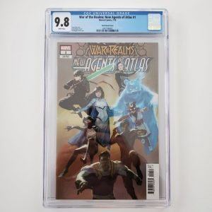 War of the Realms: New Agents of Atlas #1 CGC 9.8 Park Variant Front