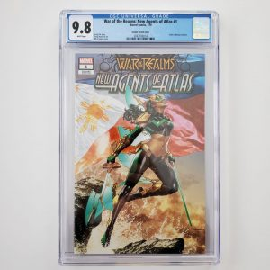 War of the Realms: New Agents of Atlas #1 CGC 9.8 Suayan Variant Front