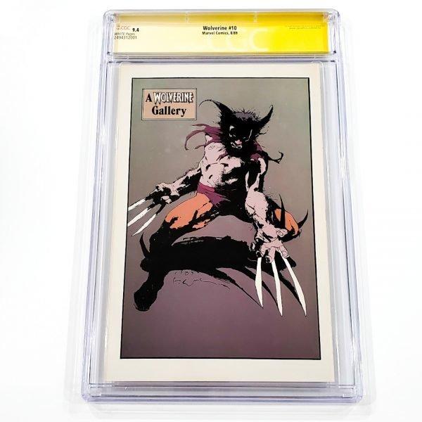 Wolverine #10 CGC SS 9.4 NM Back