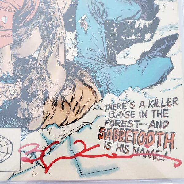 Wolverine #10 CGC SS 9.4 NM Bill Sienkiewicz Signature