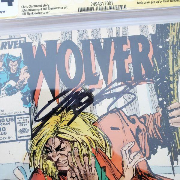 Wolverine #10 CGC SS 9.4 NM Chris Claremont Signature