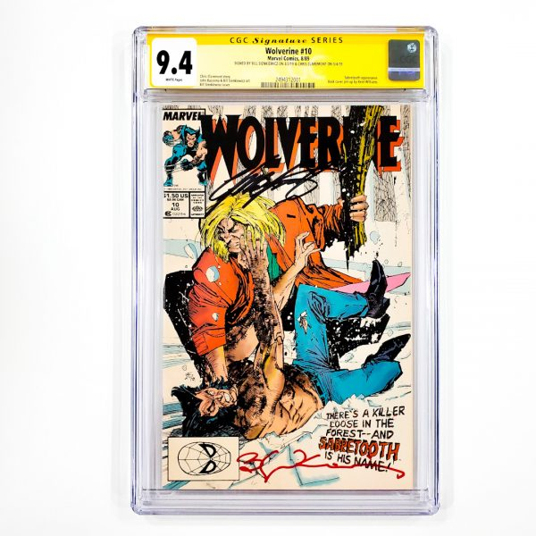 Wolverine #10 CGC SS 9.4 NM Front