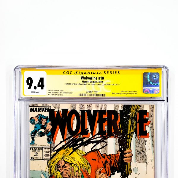 Wolverine #10 CGC SS 9.4 NM Front Label