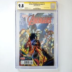 All New, All Different Avengers #1 CGC SS 9.8 NM/M Front