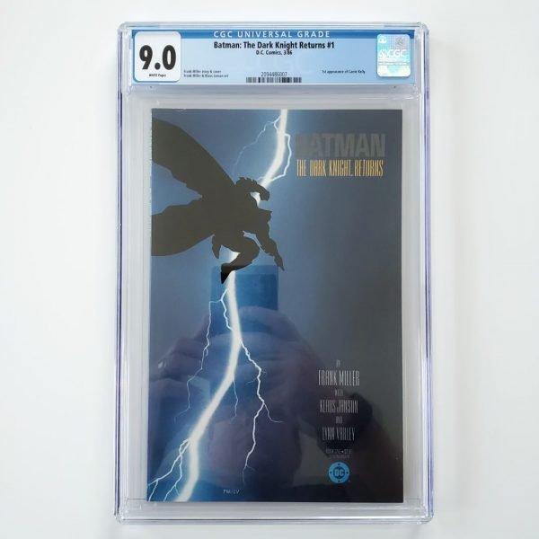 Batman: The Dark Knight Returns #1 CGC 9.0 Front