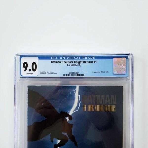 Batman: The Dark Knight Returns #1 CGC 9.0 Front Label