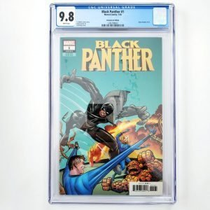 Black Panter #1 CGC 9.8 NM/M Remastered Variant Front