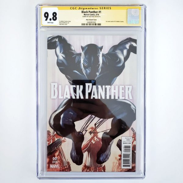 Black Panther (2016) #1 CGC SS 9.8 NM/M Ross Variant Front