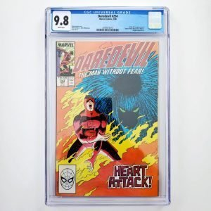 Daredevil #254 CGC 9.8 NM/M Front