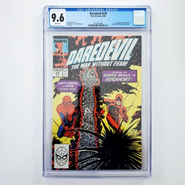 Daredevil #270 CGC 9.6 NM+ Front