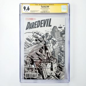 Daredevil #600 CGC SS 9.6 NM+ Remastered Sketch Variant Front