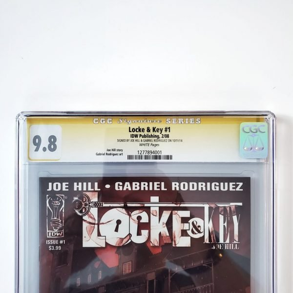 Locke & Key #1 CGC SS 9.8 NM/M Front Label