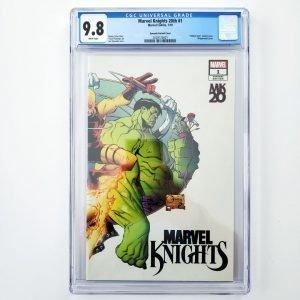 Marvel Knights 20th #1 CGC 9.8 Quesada Hidden Gem Variant Front