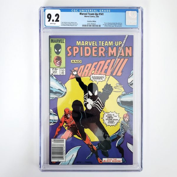 Marvel Team Up #141 CGC 9.2 Canadian Price Variant Front