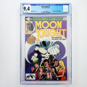 Moon Knight #1 CGC 9.4 NM Front