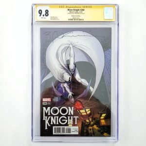 Moon Knight #200 CGC SS 9.8 Remastered Variant Front