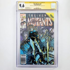New Mutants #36 CGC SS 9.6 NM+ Front