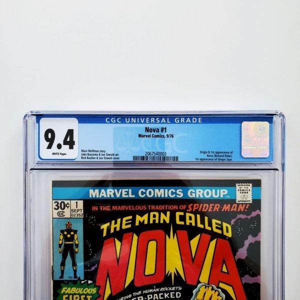 Nova #1 CGC 9.4 NM Front Label