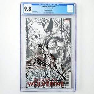 Return of Wolverine #1 CGC 9.8 Remastered Sketch Variant Front