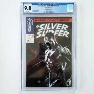 Silver Surfer: The Best Defense #1 CGC 9.8 Dell'Otto Variant Front