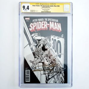 Peter Parker: Spectacular Spider-Man #300 CGC SS 9.8 Remastered Sketch Variant Front