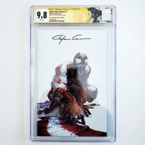 Spider-Man Annual #1 CGC SS 9.8 Crain Convention Virgin Variant Front