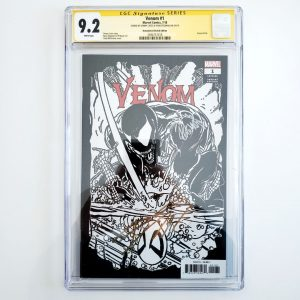 Venom (2018) #1 CGC SS 9.2 NM- Remastered Sketch Variant Front